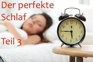 der perfekte Schlaf teil 3