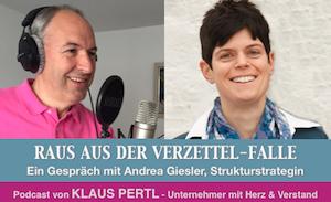 Podcast mit Andrea Giesler