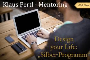 Design your Life Coaching mit Klaus Pertl - Silber