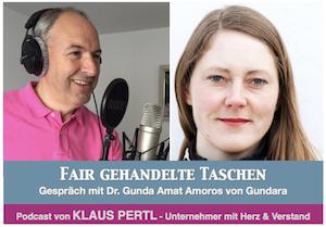 fair gehandelte Taschen Podcast