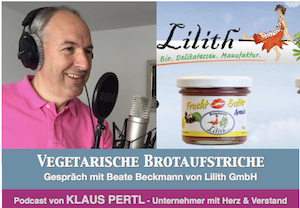 vegetarische Brotaufstriche podcast mit Beate Beckmann