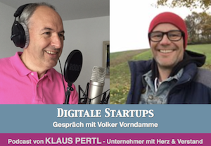 digital startup podcast klaus perlt
